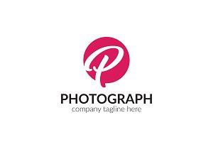 Photograph Letter P Logo