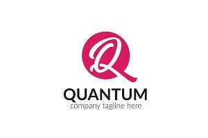 Quantum Letter Q Logo