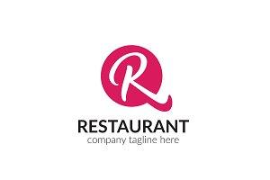 Restaurant Letter R Logo