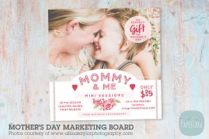 IM019 Mother's Day Marketing Board