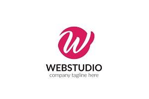 Webstudio Letter W Logo
