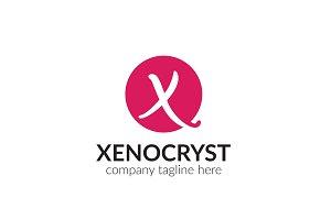 Xenocryst Letter X Logo