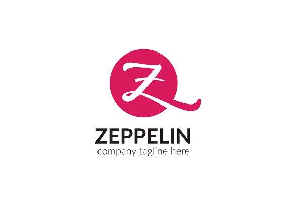 Zeppelin Letter Z Logo