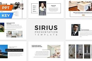 Sirius Presentation Template