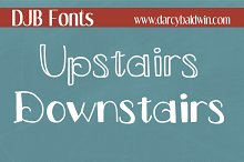 DJB Fonts: Upstairs/Downstairs
