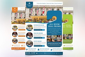 The Royal Elite Hotel Flyer Template