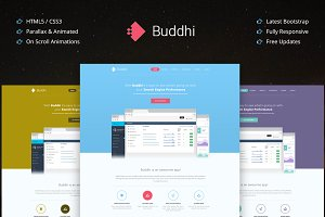 Buddhi - (35% Off) Html5 One Page