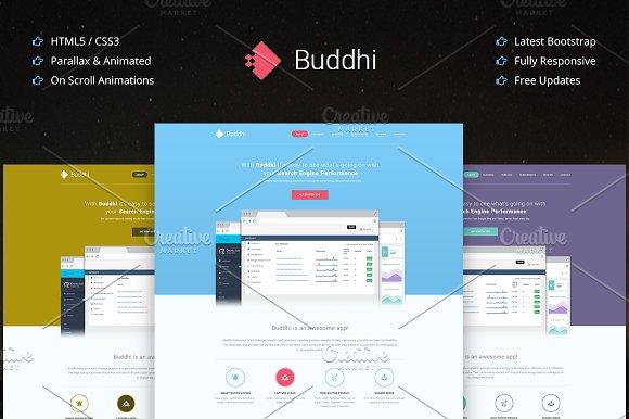 Buddhi Html5 Multipurpose One Page