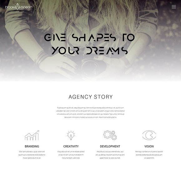 BlackSpear HTML Template