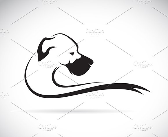 Vector Of A Dog