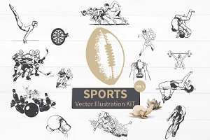 Sports Vector Illustration Kit