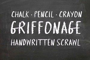Griffonage - Typeface
