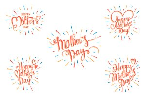5 Great cards for Mother's day!
