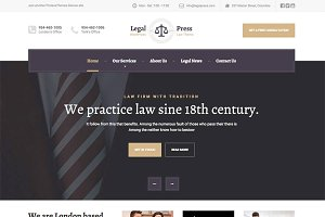 LegalPress - Law and Attorney