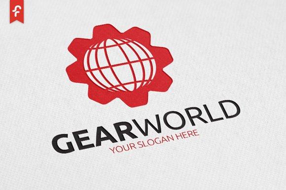 Gear World Logo