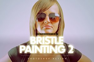 Bristle Painting 2 Photoshop Action
