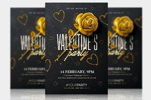 Classy Valentine's Party - Psd