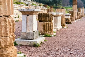 ruins of ancient city of Messena, Peloponnese