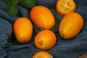 Fresh kumquats