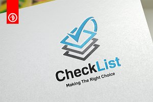 Check List / Verify - Logo Template
