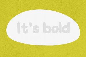 Acquaintance - Typeface