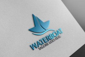 Water Boat Logo