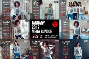 January 2017 Mega Bundle