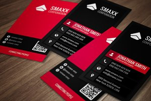 Modern Corporate Business Card CM006