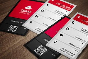 Modern Corporate Business Card CM007