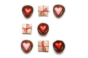Hearts & gifts minimal flatlat