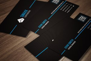 Minimal Corporate Business Card CM08