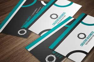 Modern Corporate Business Card CM009