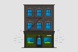 Irish Pub in Town House