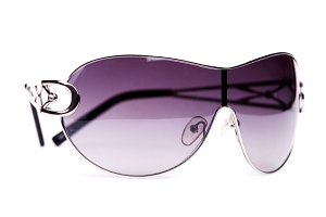Purple female sunglasses