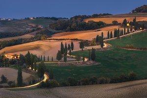 The evening Monticchiello