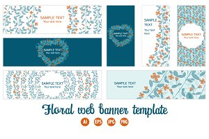 Set of web banner