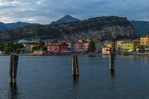 Torbole on Garda Lake, Italy