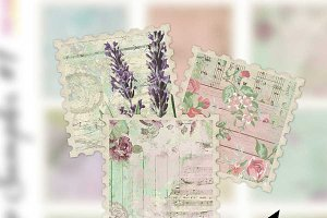 Shabby Stamps - Junk Journal Add-On