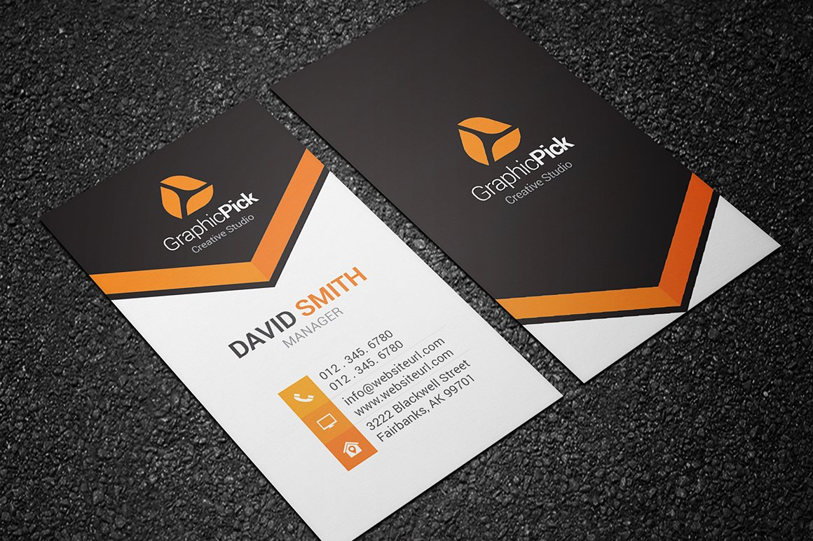 Modern Creative Business Card ~ Business Card Templates ~ Creative ...