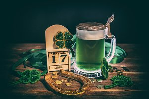 St. Patrick's Day concept