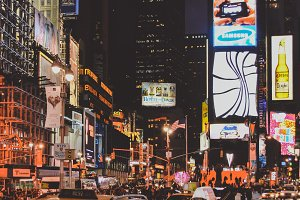 New York - Time Square at Night