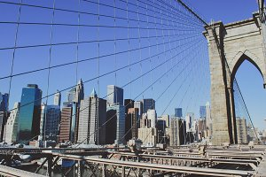 New York - Brooklyn Bridge #01