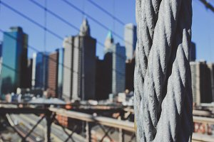 New York - Brooklyn Bridge #02