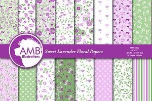 Sweet Lavender paper AMB-1409
