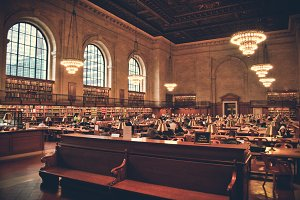 New York - Public Library #01