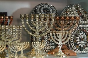 Jewish holiday Hanukkah .