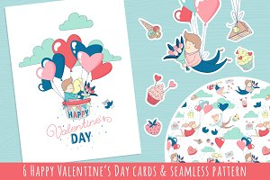 Happy Valentine's Day Card & Pattern