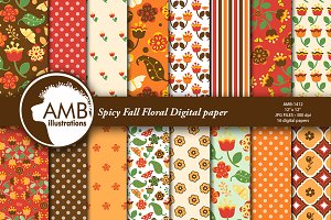 Spicy Autumn Papers AMB-1412