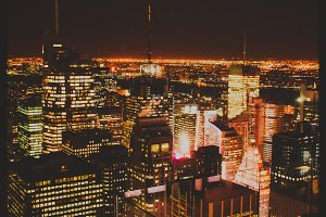 New York - At Night #02