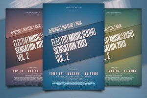 Electro Music Sensation Flyer